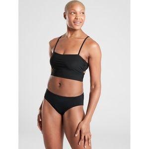 NWT Athleta Shirred Bra Cup Longline Bikini Top